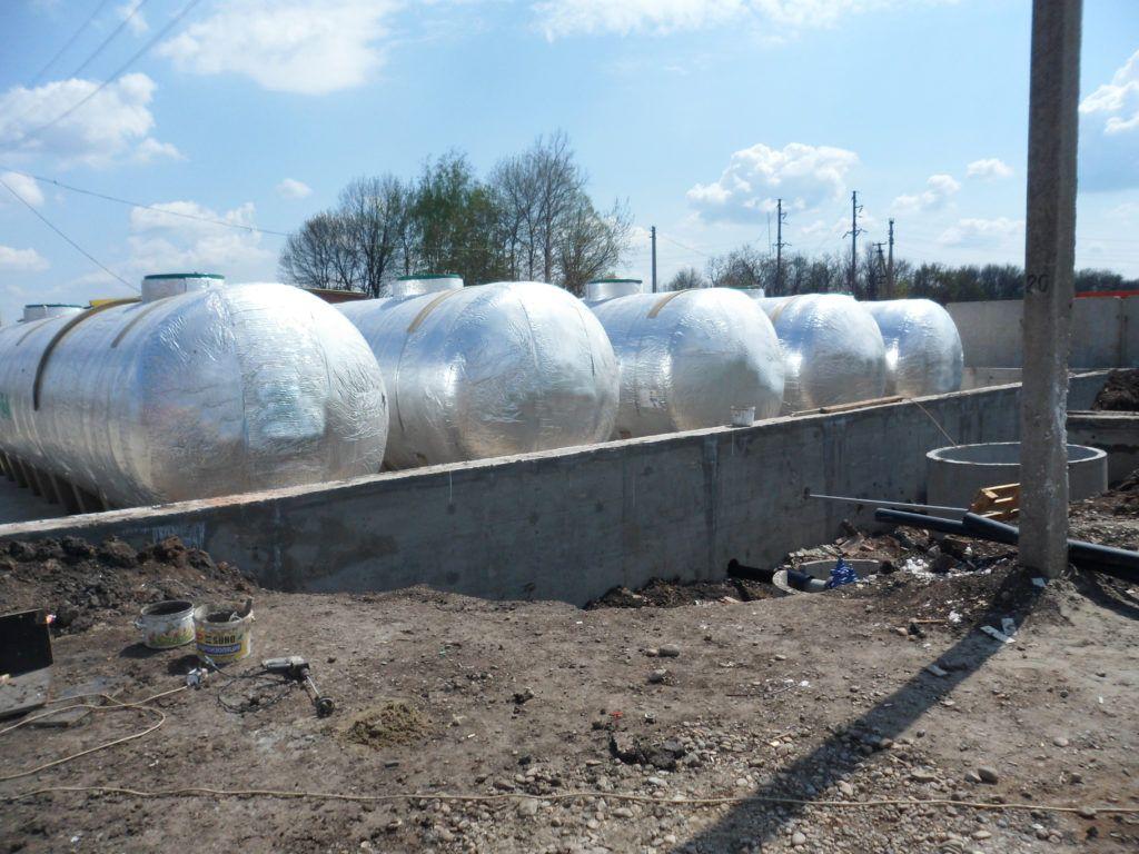 Питьевые резервуары – Краснодар