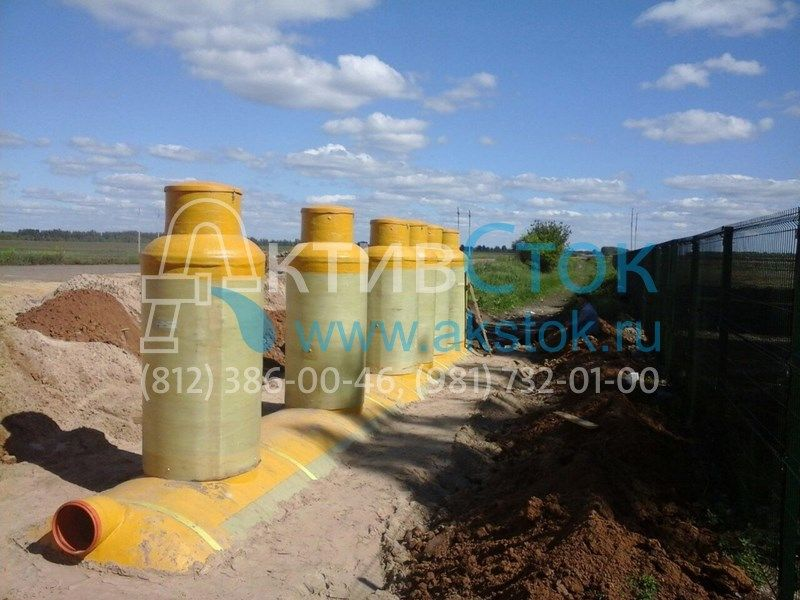 Комплексная система очистки стоков АктивСток 100 л/сек г.Тамбов