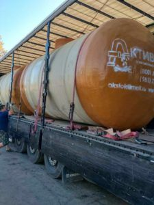 Аккумулирующие резервуары АктивСток ENA г.Калининград