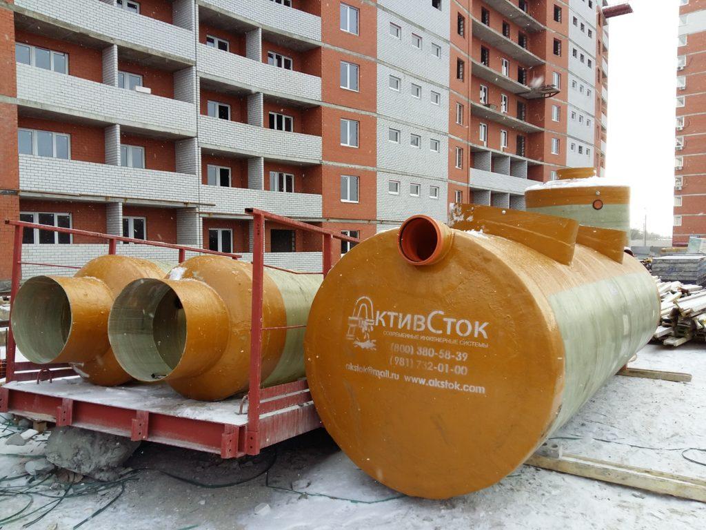 Производство Очистных Ливневых стоков АктивСток для ЖК в г.Волгоград