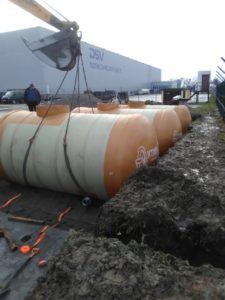Аккумулирующие резервуары для Логистического цента в Калиниградской области