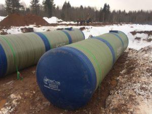 Питьевые резервуары и ПНС для Индустриальный Парк в г.Пикалево