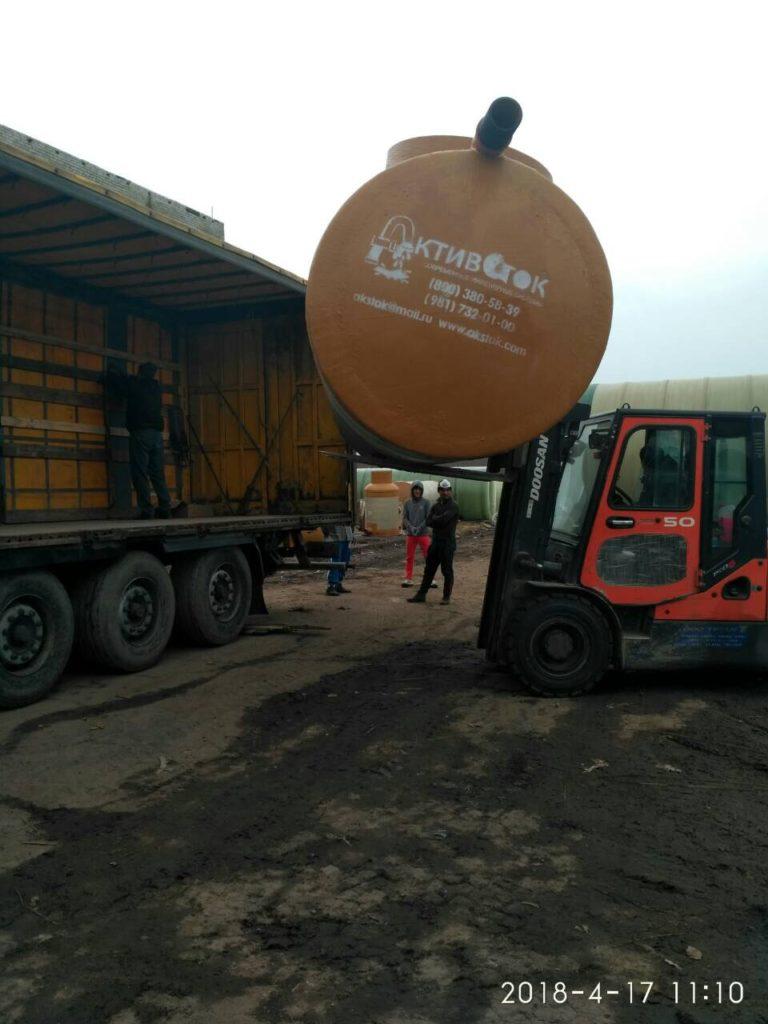Очистные сооружения, триплекс ОПОМСБ и кнс с автоматикой для Леруа Мерлен Краснодар