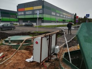 Завершен монтаж 2х КНС D3000 H5500 для Индустриального парка Пикалево