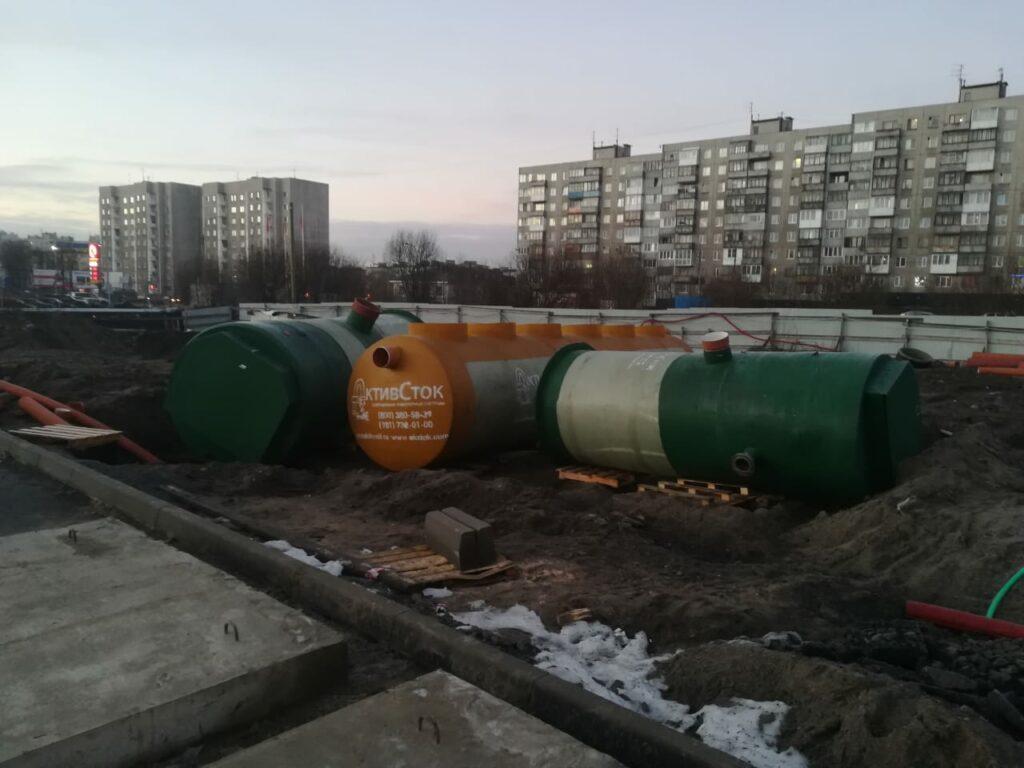 Производство и поставка КНС и ЛОС для ТРЦ в г. Мурманск