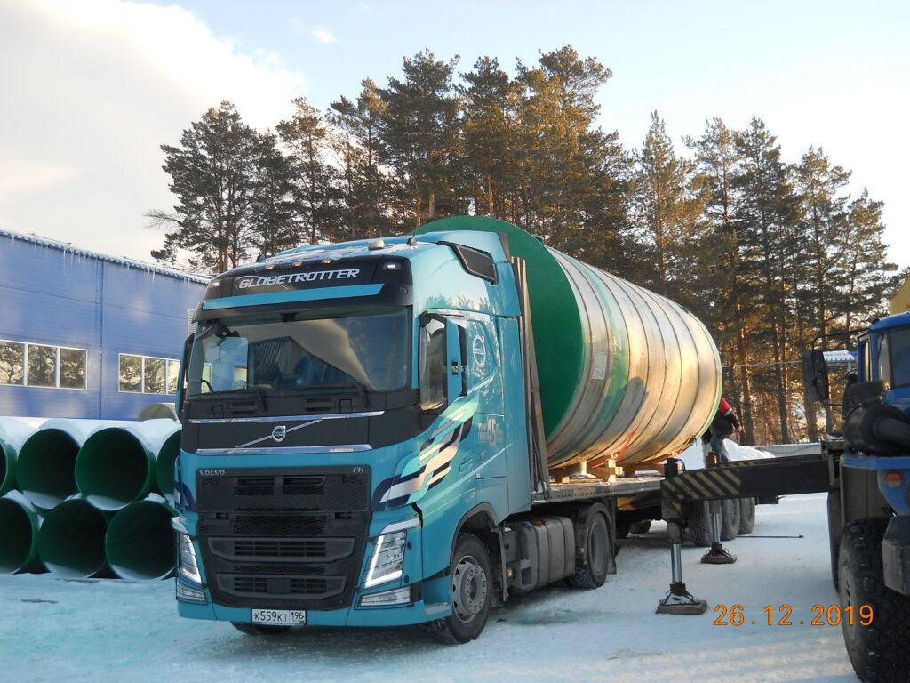 КНС для Водоканала в армированном стеклопластиковом корпусе на насосах Grundfos, г Кемерово
