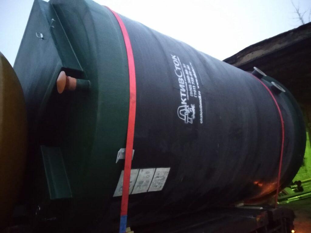 ПНС ЛОС КНС и пожарные резервуары для Складского комплекса в Тульской области