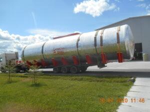 Наземные пожарные резервуары 125м3 *4  для Свиноводческого комплекса в Краснодаре