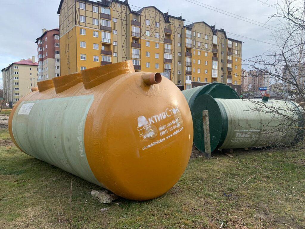 Производство и поставка КНС и очистных сооружений в г Зеленоградск Калининградская область 2021