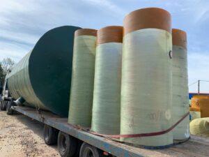 КНС и очистные сооружения для производства теплоизоляционных материалов компании K-FLEX 2021